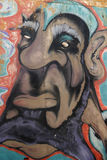 De Auto Graffiti van de spoorweg Royalty-vrije Stock Afbeelding