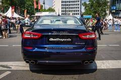 De auto Maserati Quattroporte VI van de ware grootteluxe, sinds 2013 Stock Foto