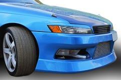 De auto met het stemmen Stock Foto