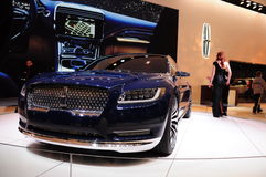 De auto in New York auto toont 2015 Stock Afbeeldingen