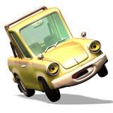 De auto Nr 29 van het beeldverhaal Stock Afbeelding