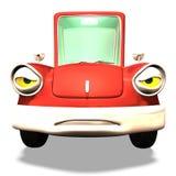 De auto Nr 33 van het beeldverhaal Stock Afbeeldingen