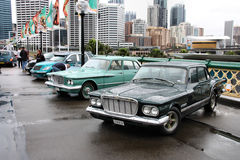 De auto's van Chrysler Stock Afbeelding
