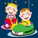 De Auto's van de bumper royalty-vrije illustratie