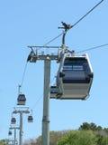 De auto's van de tram Royalty-vrije Stock Fotografie