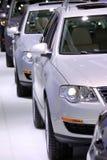 De auto's van de vloot royalty-vrije stock foto's