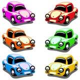 De Auto's van het stuk speelgoed vector illustratie
