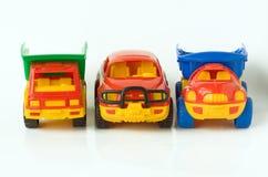 De auto's van het stuk speelgoed royalty-vrije stock foto's