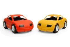 De auto's van het stuk speelgoed Royalty-vrije Stock Afbeeldingen