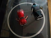 De auto's van het stuk speelgoed Stock Afbeelding