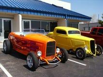 De Auto's van Hotrod Stock Fotografie