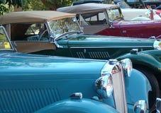De Auto's van Mg in een rij Royalty-vrije Stock Afbeelding