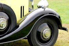 De auto's van Oldtimer Stock Afbeeldingen