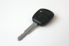 De auto sleutel isplated op wit Stock Afbeelding