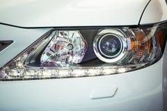 De auto steekt dicht omhoog aan royalty-vrije stock afbeeldingen