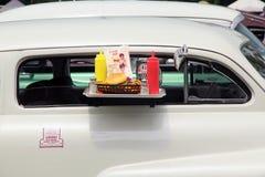 De auto toont. Royalty-vrije Stock Afbeeldingen