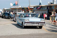 De auto toont Royalty-vrije Stock Foto's