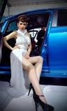De auto toont in Wuhan Stock Afbeelding