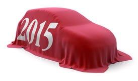 de auto van 2015 Stock Fotografie