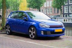 De auto van Amsterdam Stock Afbeelding