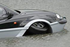 Aqua Car Royalty-vrije Stock Foto's