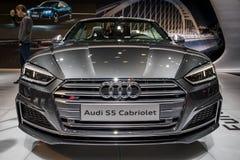 De auto van Audi S5 Stock Afbeeldingen