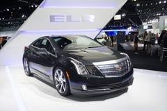 De auto van Cadillac ELR op vertoning Royalty-vrije Stock Afbeelding
