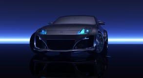 CG-auto royalty-vrije stock afbeeldingen
