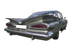 De auto 1959 van Chevrolet Biscayne (Impala) vintafe Royalty-vrije Stock Afbeelding