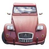 De auto van Citroën 2CV Royalty-vrije Stock Afbeeldingen