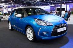 De Auto van Citroën DS3 op de Internationale Motor Expo van Thailand Stock Afbeeldingen
