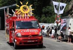 De auto van Cofidis Royalty-vrije Stock Foto's