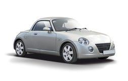De auto van Daihatsu Copen op wit wordt geïsoleerd dat Royalty-vrije Stock Foto