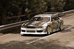 De auto van de afwijking in Rampa DA Falperra 2012 Royalty-vrije Stock Foto
