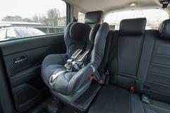 De auto van de babyzetel Stock Afbeeldingen
