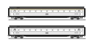 De auto van de bus   royalty-vrije illustratie