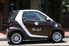 De Auto van de chocolade Stock Illustratie