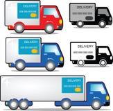 De auto van de levering stock illustratie