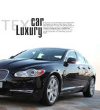 De auto van de luxe Stock Afbeelding