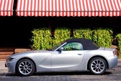 De auto van de luxe in de stad Royalty-vrije Stock Fotografie