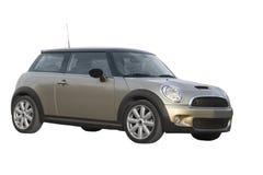 De auto van de manier die op witte achtergrond wordt geïsoleerdr. Stock Afbeeldingen