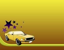 De auto van de mustang Stock Afbeeldingen
