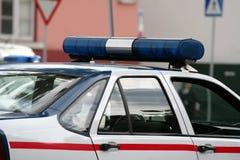 De auto van de politie stock foto's