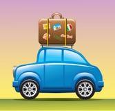 De auto van de reis Stock Afbeelding