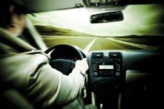De auto van de snelheid Stock Foto's