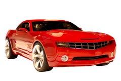 De Auto van de Spier van het concept Stock Afbeeldingen