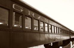 De auto van de spoorweg Stock Fotografie