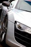 De auto van de veiligheid op een ras Royalty-vrije Stock Foto