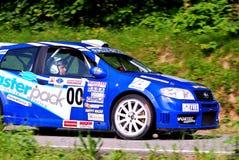 De Auto van de Veiligheid van Fiat Punto Royalty-vrije Stock Fotografie