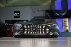 De auto van de Visiegran Turismo van Mercedes-Benz AMG op vertoning bij La A Royalty-vrije Stock Fotografie